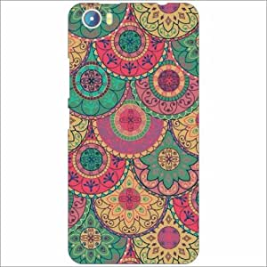 Micromax Canvas Fire 4 A107 Back Cover - Silicon Printful Designer Cases