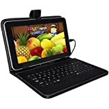 I KALL N4(1+8GB) 4G+WIFI Calling Tablet With Keyboard- Black