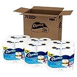 Charmin Ultra Soft Toilet Paper, Mega Roll, 24 Count, Bath Tissue
