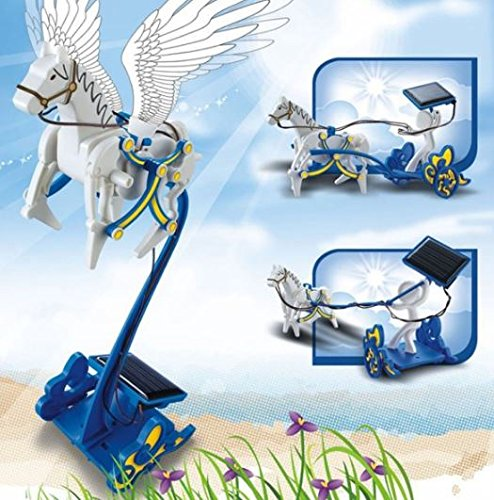 3-in-1 Educational DIY Solar Energy Pegasus and Chariot Toy by Ozone48 (Marble Run Fridge compare prices)
