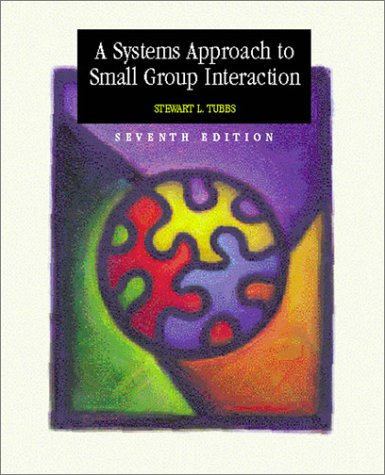 A Systems Approach to Small Group Interaction with