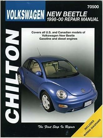 Volkswagen New Beetle: 1998-2000 (Chilton's Total Car Care Repair Manuals)