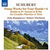 Oeuvres Pour Piano A 4 Mains /Vol.6