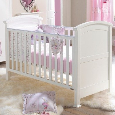 Izziwotnot Humphrey's Corner Lottie Fairy Princess 5 Piece Coverlet Bedding Bale, Cot/Cot Bed