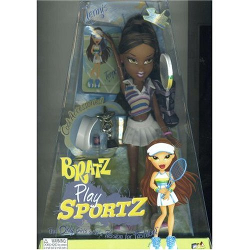 Buy Low Price MGA International Bratz Play Sportz Tennis Doll Sasha Figure (B000WD011I)