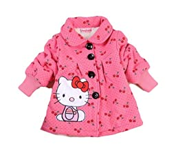 SOPO Hello Kitty Toddler Girls Winter Jacket 2-5Y Outerw Coat Pink