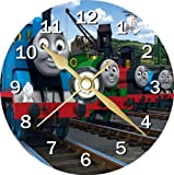 Thomas The Tank Engine Novelty Cd Clock + Free Desktop Stand