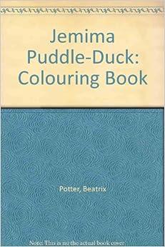 Jemima Puddle Duck Colouring Book Beatrix Potter