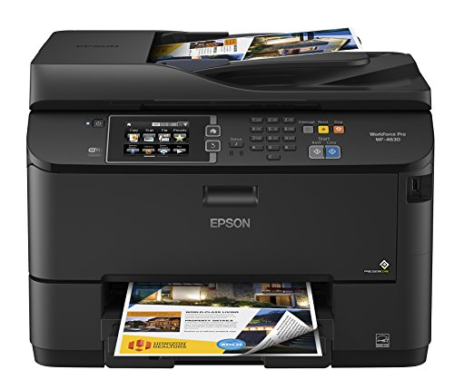 Epson WorkForce Pro WF-4630 Wireless Color All-in-One Inkjet Printer with Scanner and Copier (Epson Laser Color Printer compare prices)