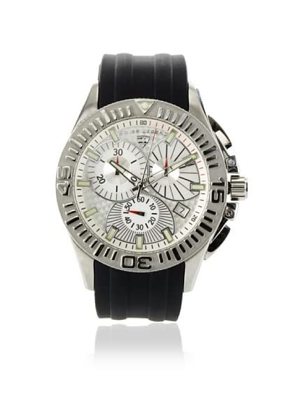 Swiss Legend Men's 50064-02 Evolution Collection Chronograph Rubber Strap Watch
