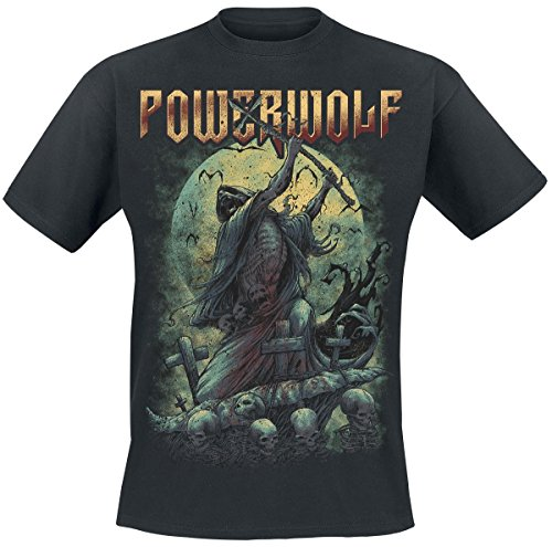 Powerwolf Reaper T-Shirt nero S
