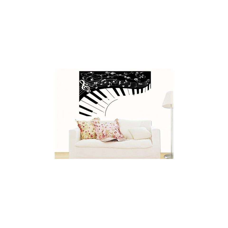 Wall MURAL Vinyl Sticker ART ABSTRACT PIANO MUSIC S.5050