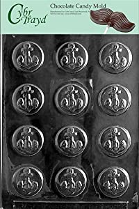Cybrtrayd N022 Anchor Mints Chocolate Candy Mold with Exclusive Cybrtrayd Copyrighted... by CybrTrayd
