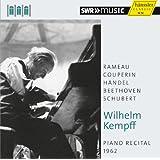 Wilhelm Kempff: Piano Recital, 1962