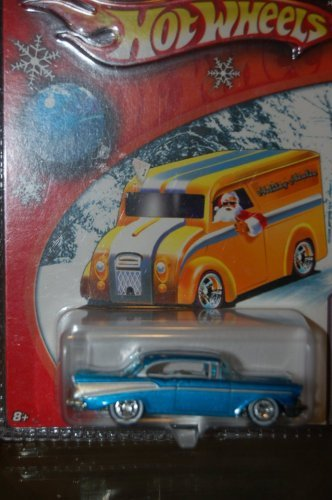 2006 HOT WHEELS LIMITED EDITION HOLIDAY RODS GOLD '57 CHEVY BEL AIR #3 OF 5 - 1