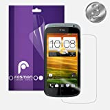 Fosmon Crystal Clear Screen Protector for HTC One S - 3 Packs (Fosmon Retail Packaging)