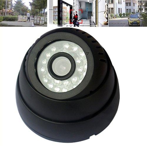 Ckeyin USB Überwachungskamera Color-Dome Kamera Indoor IR-Nachtsicht auf Micro SD Karte Videokamera