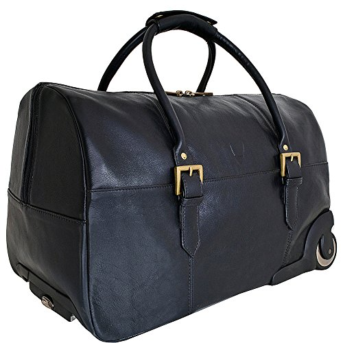 hidesign-charles-leather-wheeled-travel-weekend-luggage-bag-black