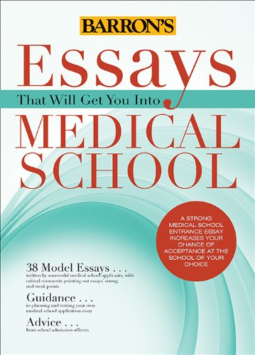 Medical School Essay Example Books: Most Realistic Essays?