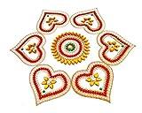 Designer Rangoli Made ON PVC SHEET R8.