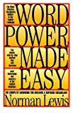 Word Power Made Easy (0883659255) by Norman Lewis
