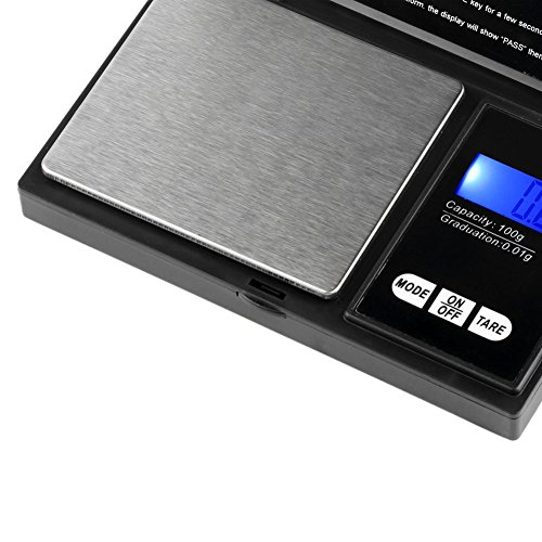 YKS-100g-x-001g-Digital-Pocket-Scale-with-Back-Lit-LCD-Display-for-Jewelry-Reloading-Kitchen-Gold-Coin-Black