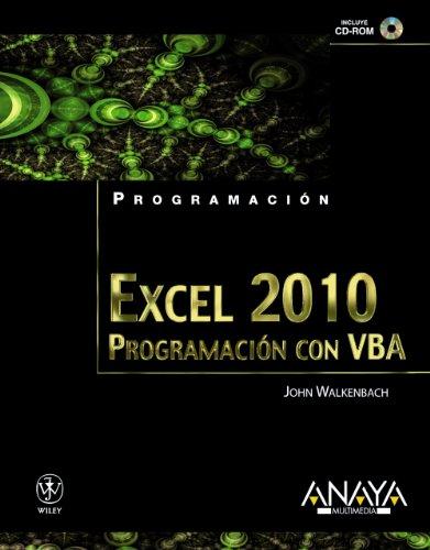 Excel 2010. Programación con VBA