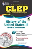 img - for CLEP History of the United States II w/CD (REA) - The Best Test Prep for the CLE (Test Preps) book / textbook / text book
