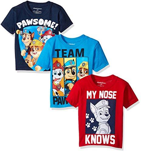 Paw Patrol Boys' Value Pack T-Shirt