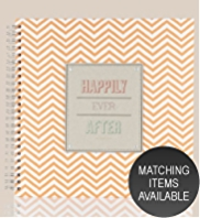 Chevron Collection Happily Ever After Scrap Book