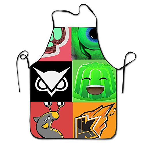 Xiaqu Jacksepticeye Markiplier And VanossGaming The Character Apron