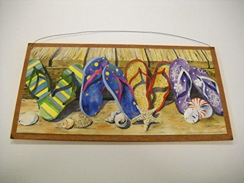 Seashell Flip Flops front-484010