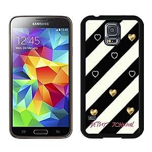 Amazon.com: Custom Fashion Betsey Johnson 07 Black Samsung Galaxy S5