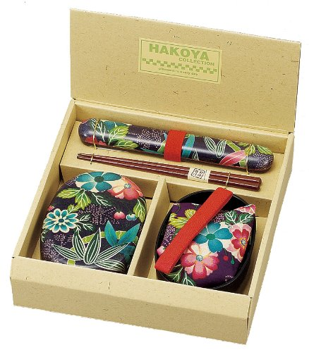 HAKOYA lunchtime set Yuzen paradise purple 51801
