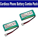 RCA VISYS 25252 Cordless Phone Battery Combo-Pack includes: 2 x BATT-6010 Batteries