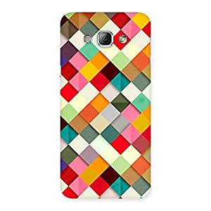 ColorFull Ribbons Print Back Case Cover for Galaxy A8