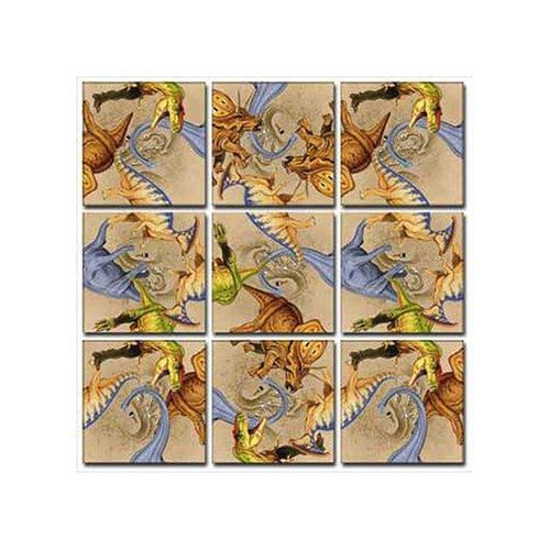 Cheap Fun B Dazzle Diggin Dinos Scramble Squares 9 Piece Puzzle (B000BWZR8W)