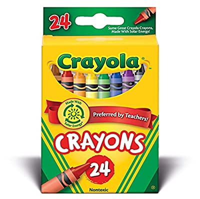 Crayola - 24 Crayons Assorted Colours