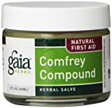 Gaia Herbs Comfrey Compound Supplement Jar, 2 Ounce