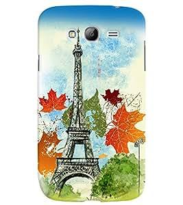 PrintVisa Travel Paris 3D Hard Polycarbonate Designer Back Case Cover for Samsung Galaxy Grand Neo Plus