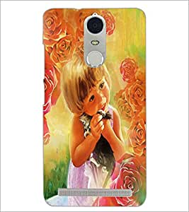 PrintDhaba Cute Baby D-4354 Back Case Cover for LENOVO K5 NOTE (Multi-Coloured)