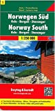 img - for Norway, South, 1 Oslo/Bergen/Stavanger (Road Maps) book / textbook / text book