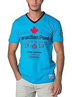 CANADIAN PEAK Camiseta Manga Corta Jolorado (Azul)