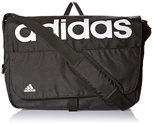 Adidas Linear Performance sacchetto di sport uomo, Uomo, Linear Performance, nero/bianco, NS