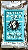 North Fork Kettle Cooked Potato Chips Salt & Vinegar 2oz Bags (Pack of 12)