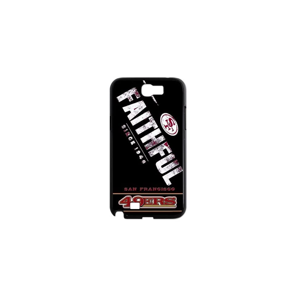NFL Samsung Protector San Francisco 49ers Team Logo Samsung Galaxy Note 2 N7100 Fitted Cases cover