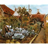 A Flemish Garden, by Henri de Braekeleer (Print On Demand)