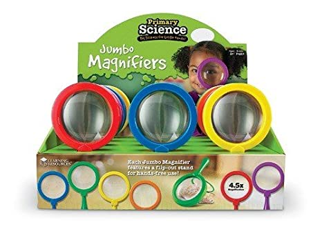 Learning Resources Loupes Géantes Primary Science - Jeu de 12