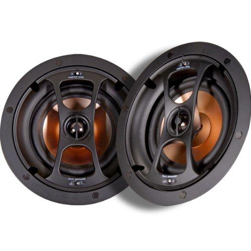"""Nx-C6.2-Plus Pro Plus Series 6.5"""" 125-Watt 2-Way In-Ceiling/In-Wall Speakers With Magnetic Grilles"""