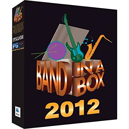 PG Music Band-in-a-Box 2012 MAC UltraPlusPAK (Mac-Hard Drive)